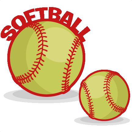Free sports clip art. Words clipart softball