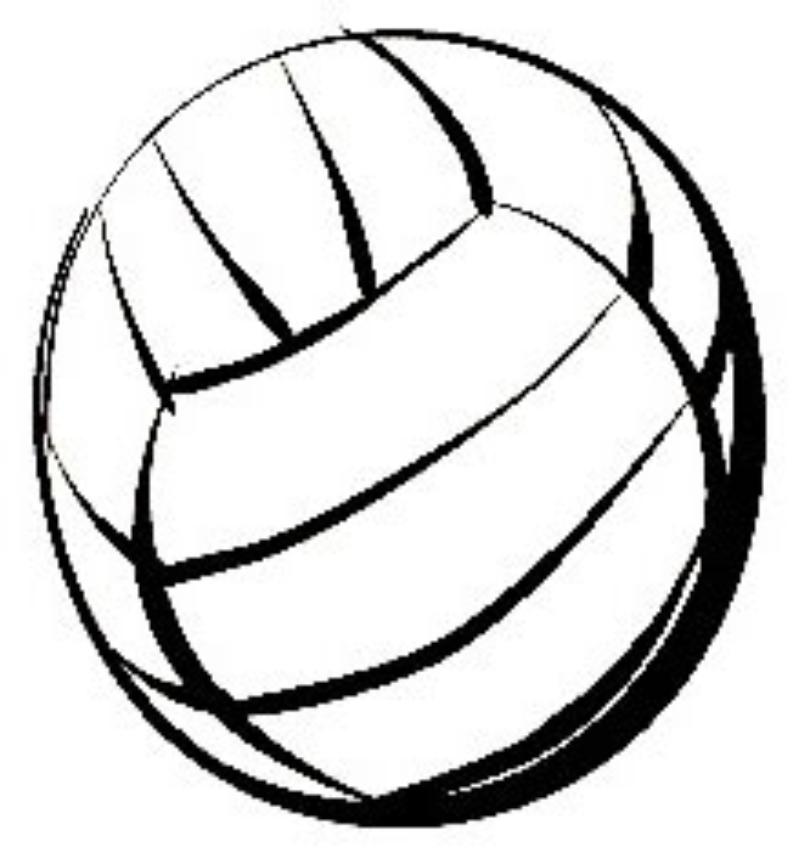 And clip art library. Softball clipart volleyball