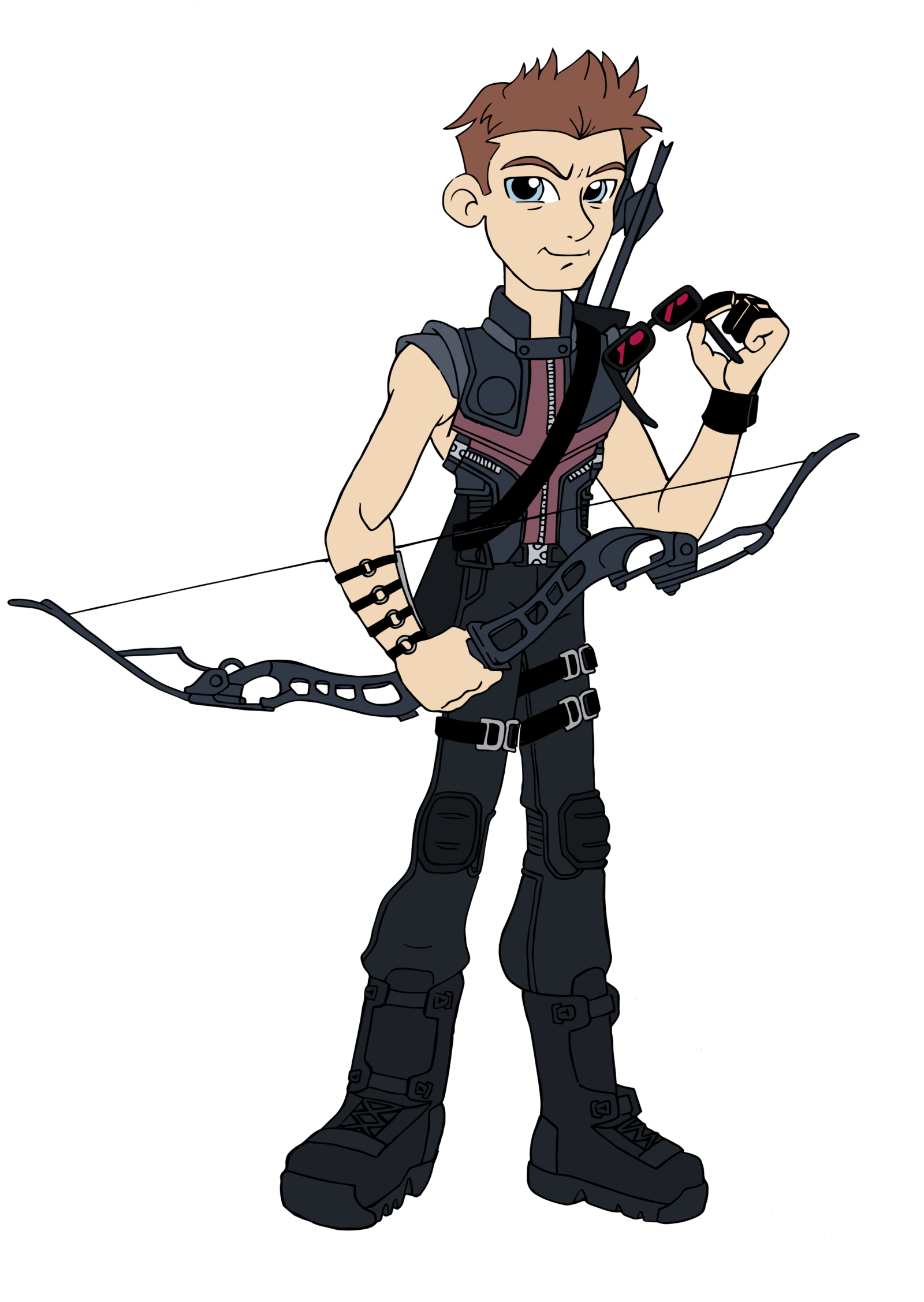 Soldiers clipart american soldier. Hawkeye equestria girls style