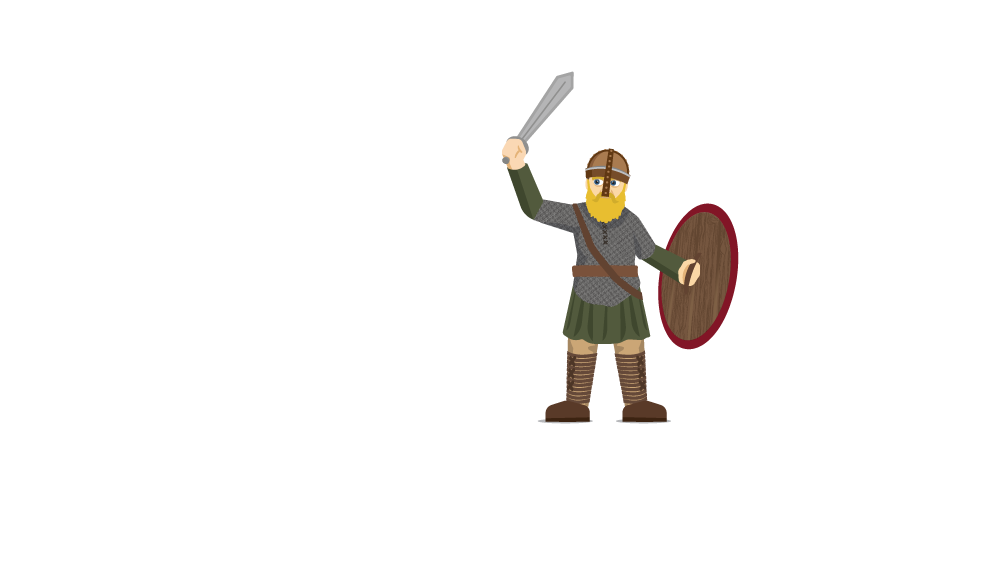 Bbc bitesize when did. Warrior clipart anglo saxon