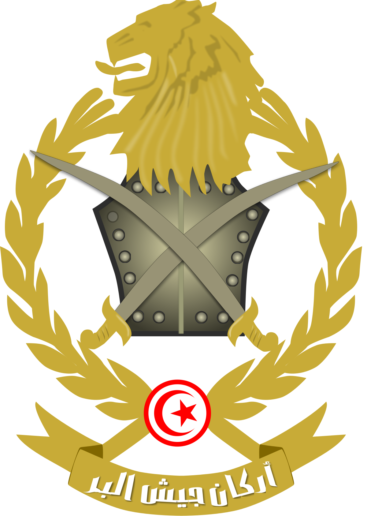 Soldiers clipart badge. Tunisian army wikipedia
