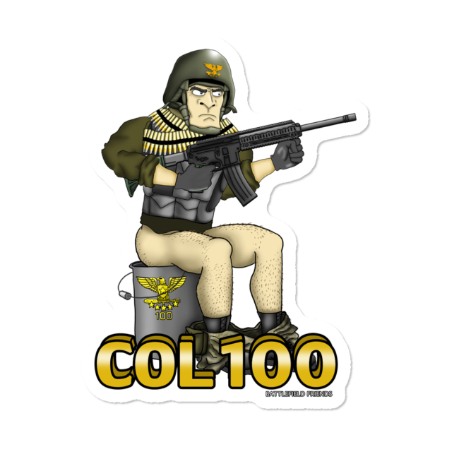 Sticker by neebsgaming design. Soldiers clipart colonel