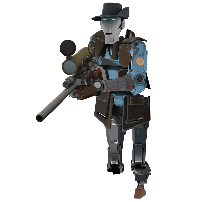 Soldiers clipart robot. Steam community guide mann