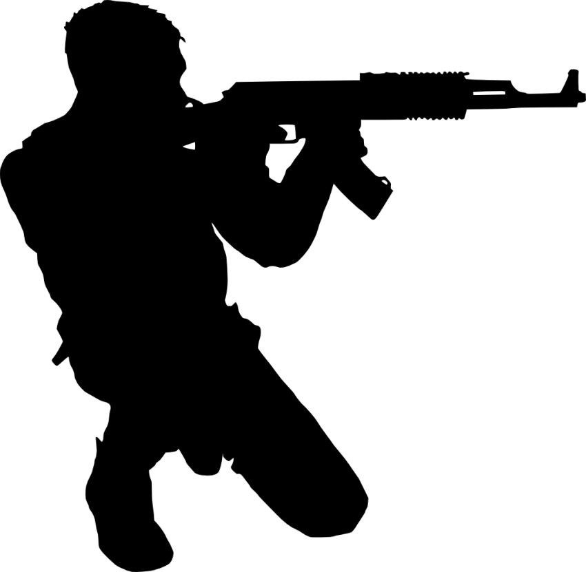 Soldier silhouette png free. Soldiers clipart serviceman