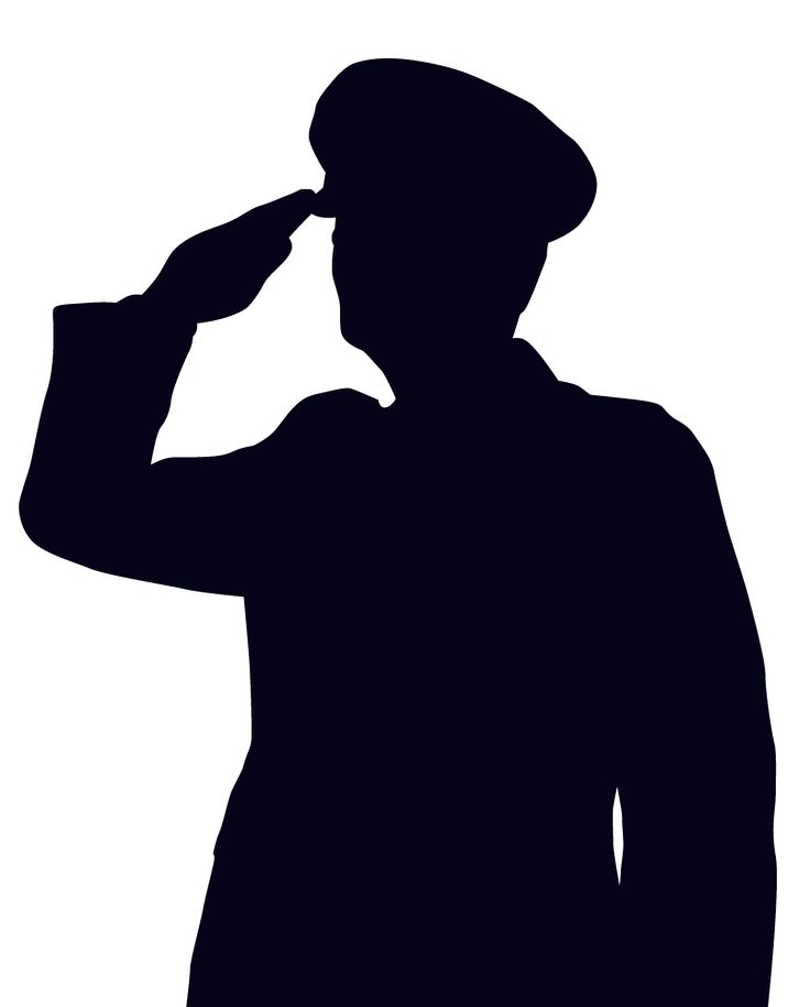 Soldier salute station . Soldiers clipart sir