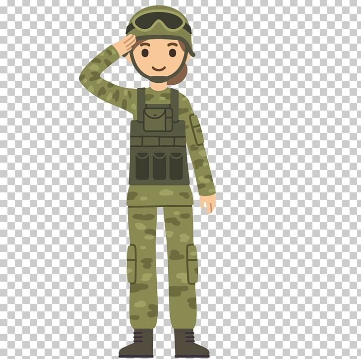 Soldiers clipart soldier salute. Cartoon army png men