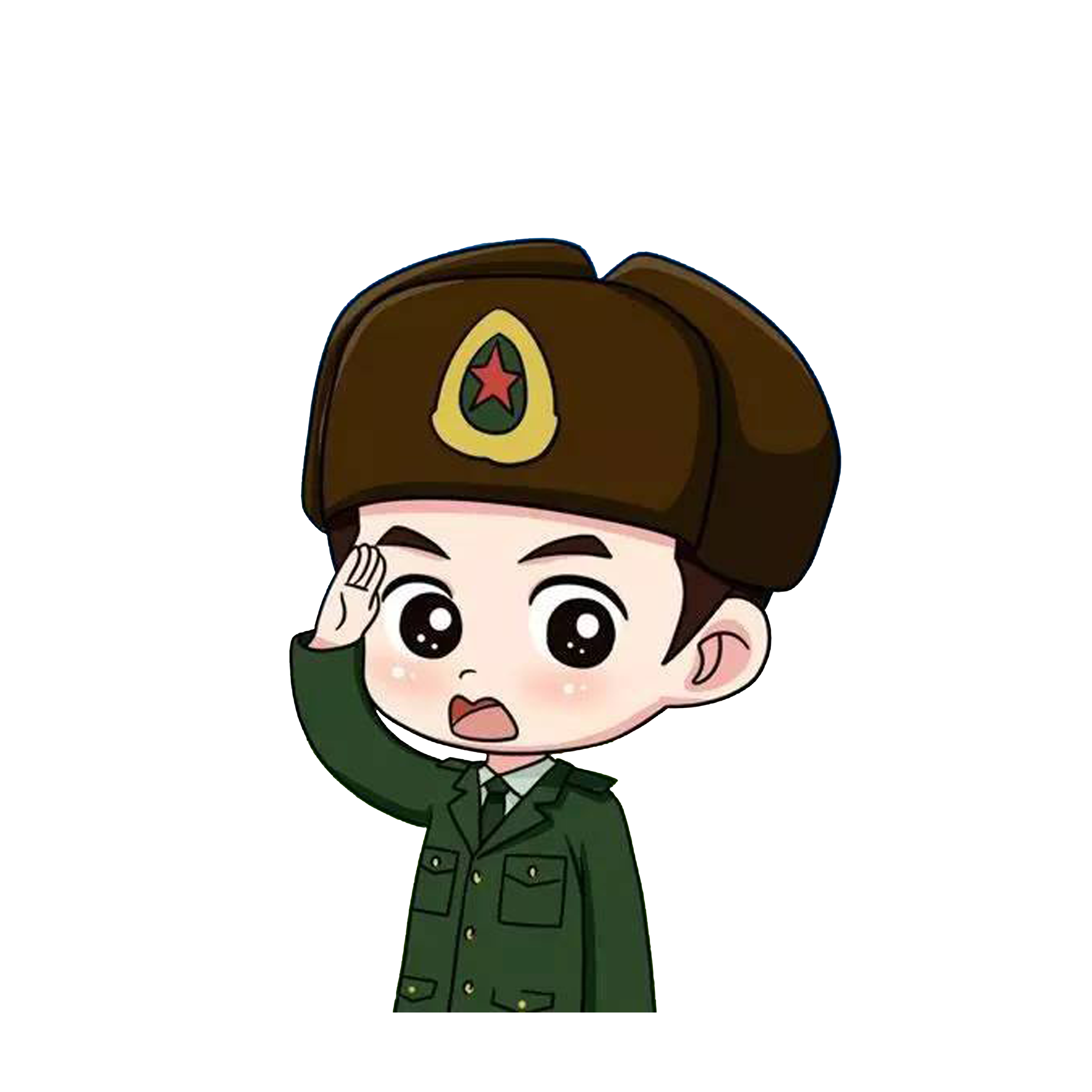 Soldiers clipart soldier salute. Cartoon download transprent png