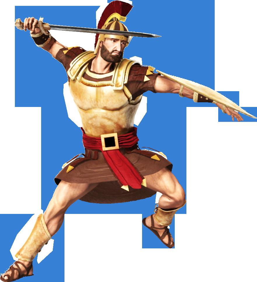 Soldier transparent background png. Warrior clipart roman battle