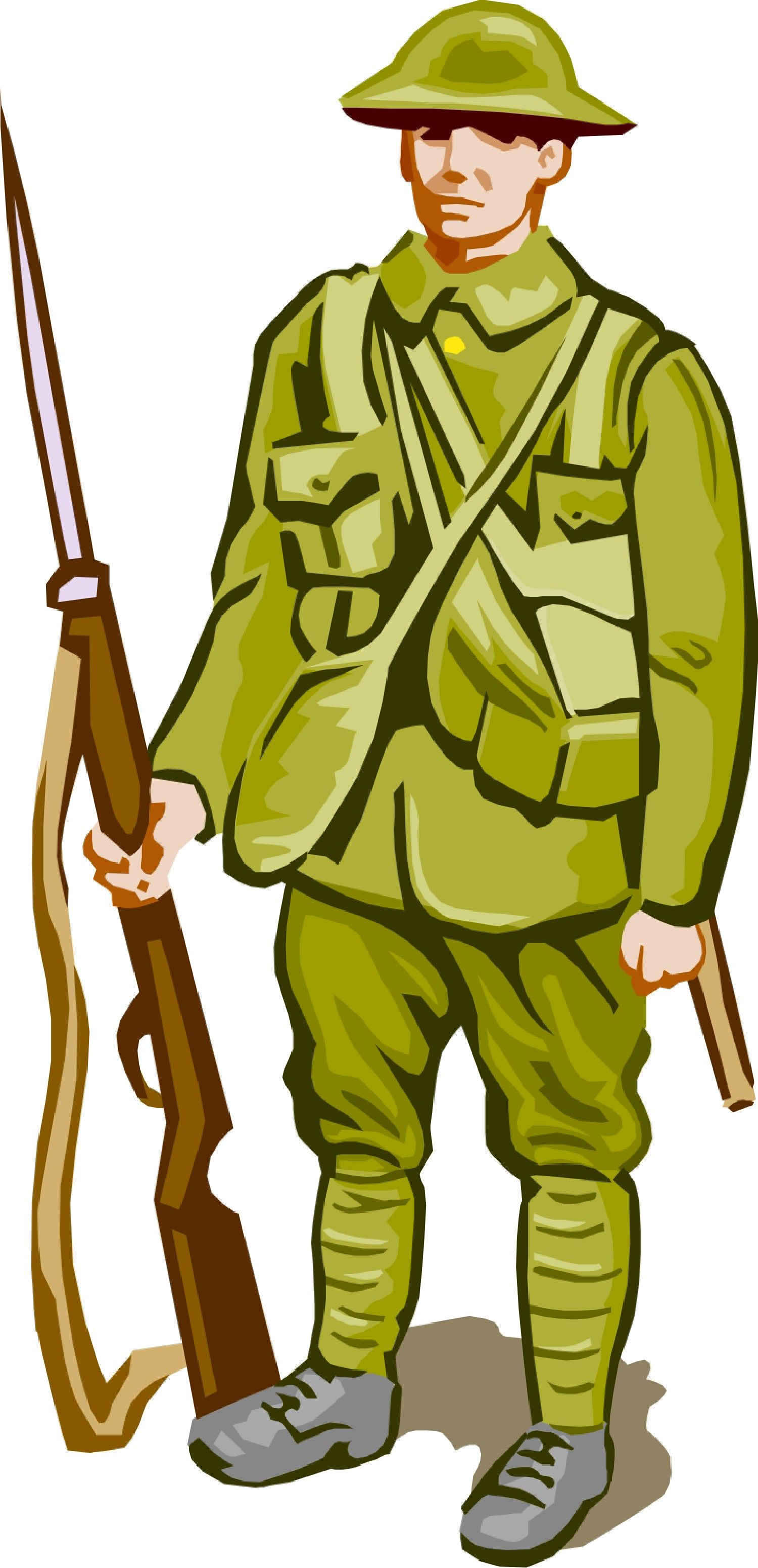 Ww soldier station . Soldiers clipart ww1