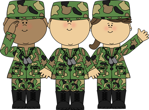 Group of clip art. Soldiers clipart
