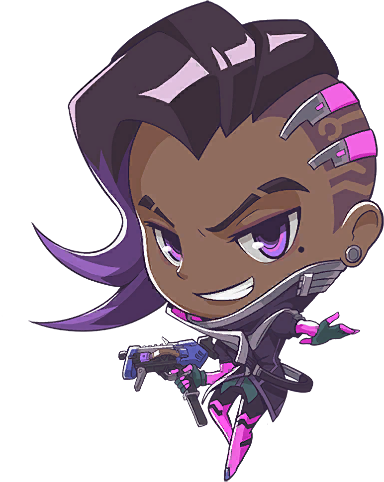 Image cute wiki fandom. Sombra overwatch png