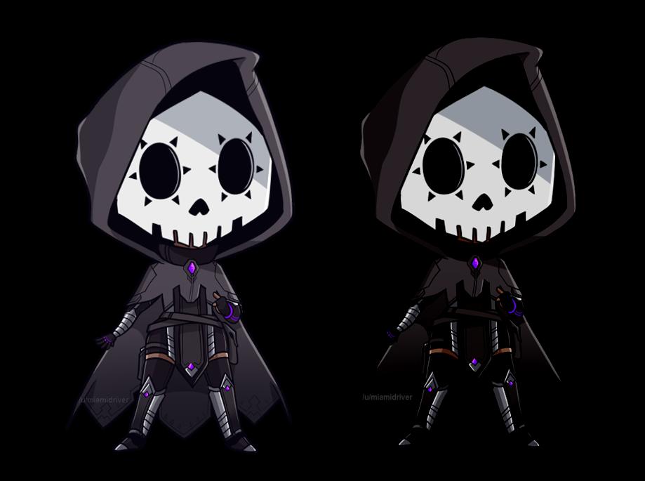 Sombra png overwatch. Deserves a cloak skull