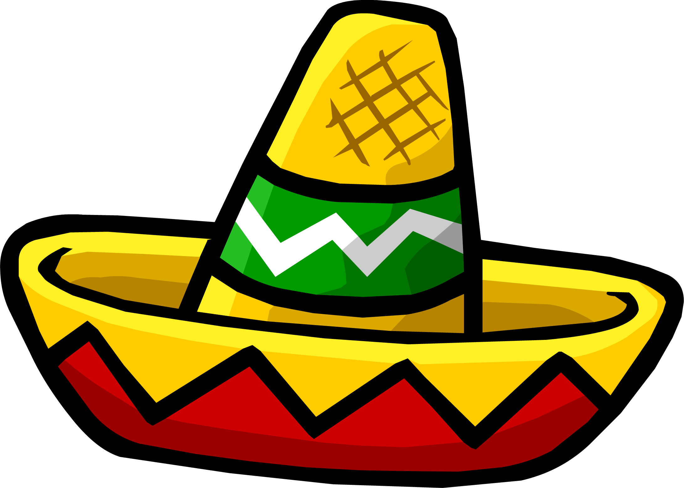 Sombrero google search mexico. Peppers clipart fiesta