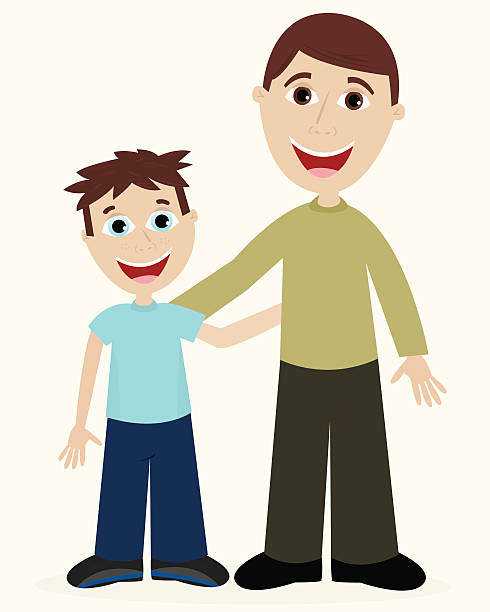 Son clipart. Father and at getdrawings