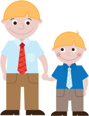 Pai minus family pinterest. Son clipart