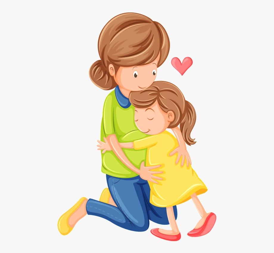 Son clipart hugging. Hugs and kisses free