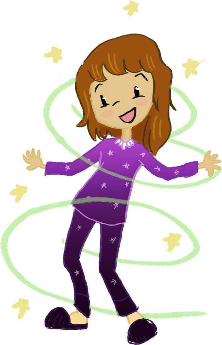 The magic pajamas or. Son clipart preschooler