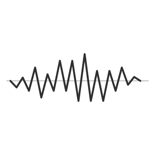 Sound wave vector png. Sharp transparent svg
