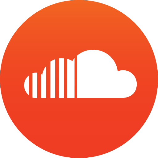 Circle soundcloud icon transparent. Red twitter png