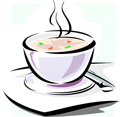 Bowl of . Soup clipart