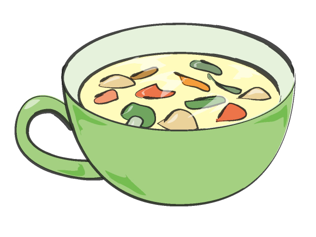 Vegetable . Soup clipart