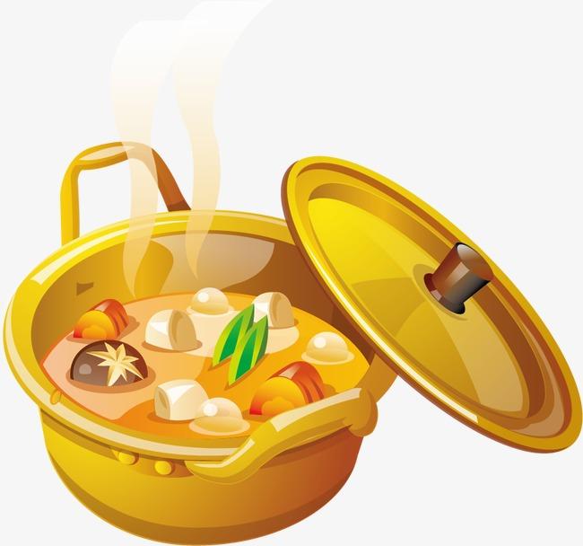 Soup clipart. Pot food png image