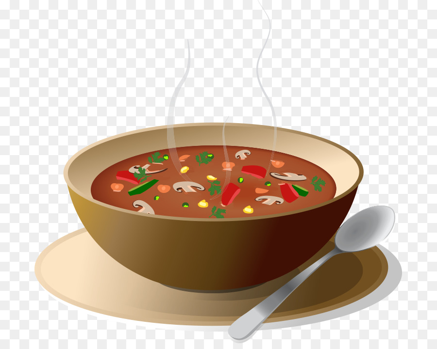 Chicken tomato clip art. Soup clipart cooked vegetable