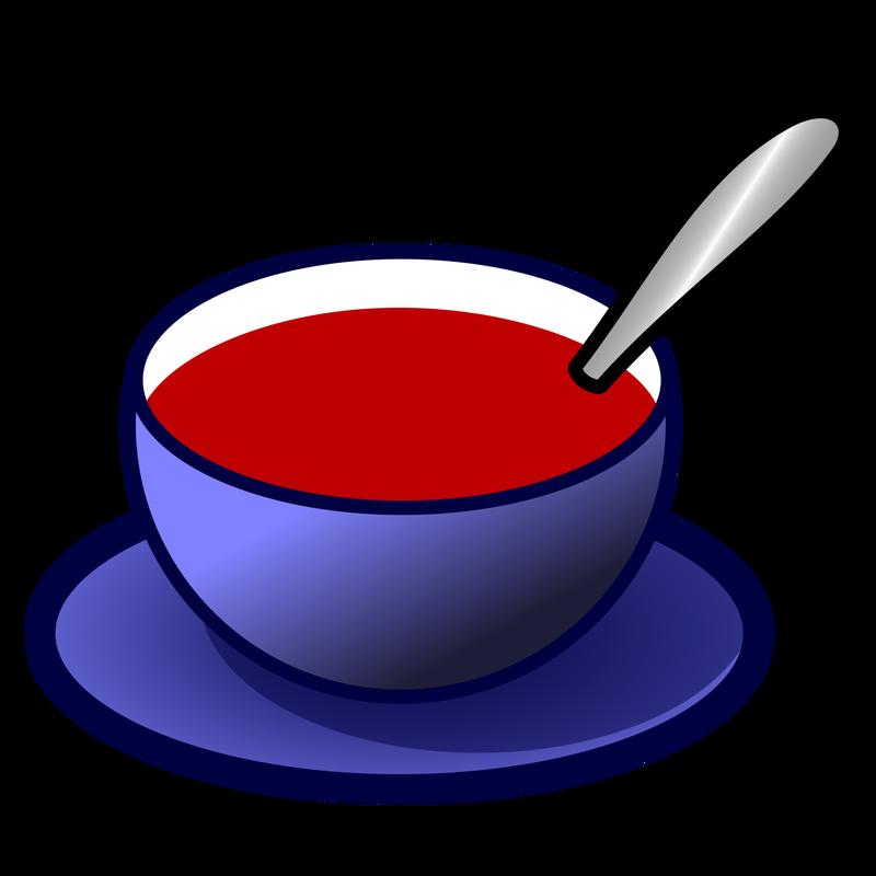 Soup clipart cup soup. Symbol food talksense