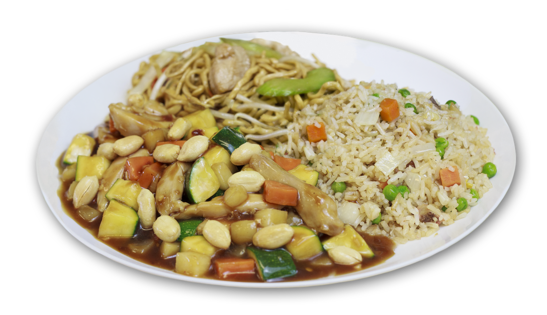 Soup clipart fried rice. Combination plates china cafe