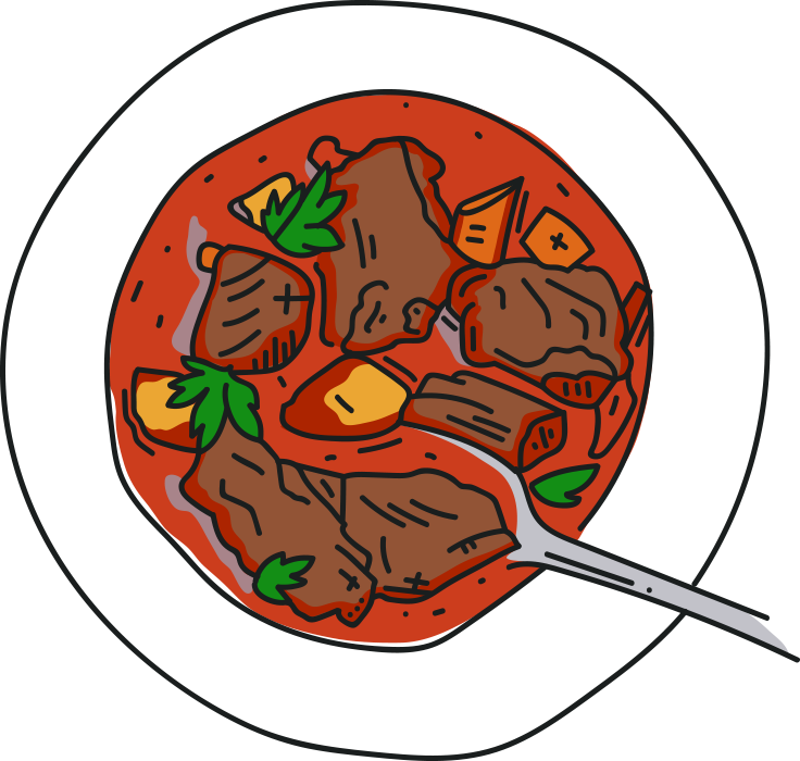 hangover cures from. Soup clipart goulash