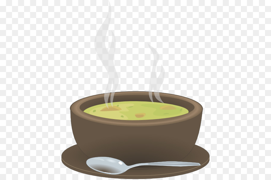 Cup of coffee food. Soup clipart hot dish