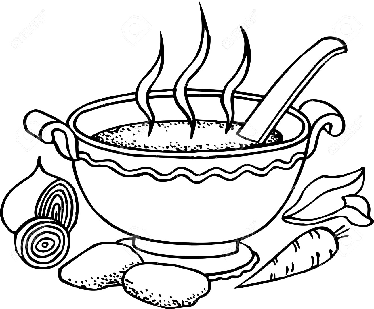 Free chicken download clip. Soup clipart hot dish