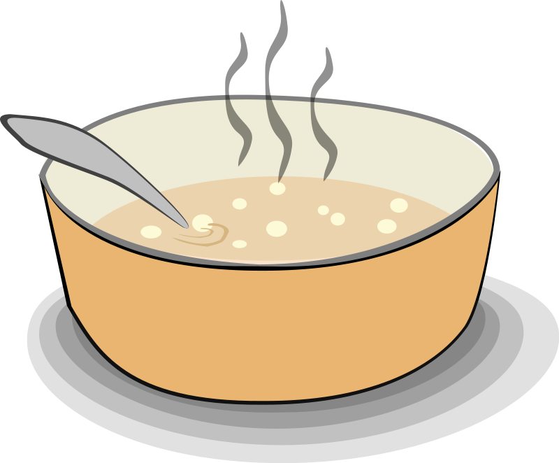 Free picture of bowl. Soup clipart hot object
