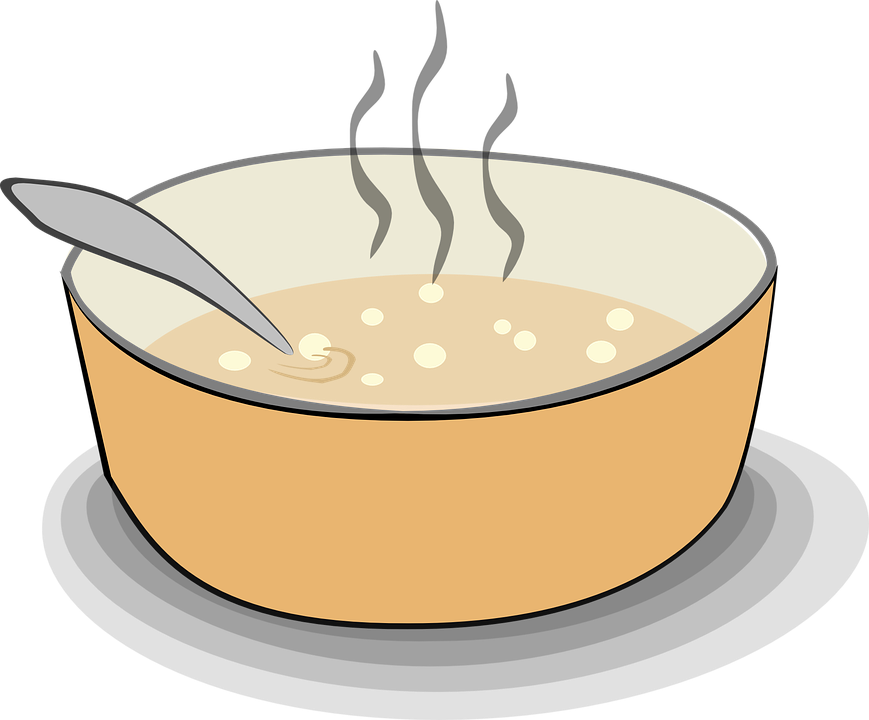 Know what you sip. Soup clipart liquid