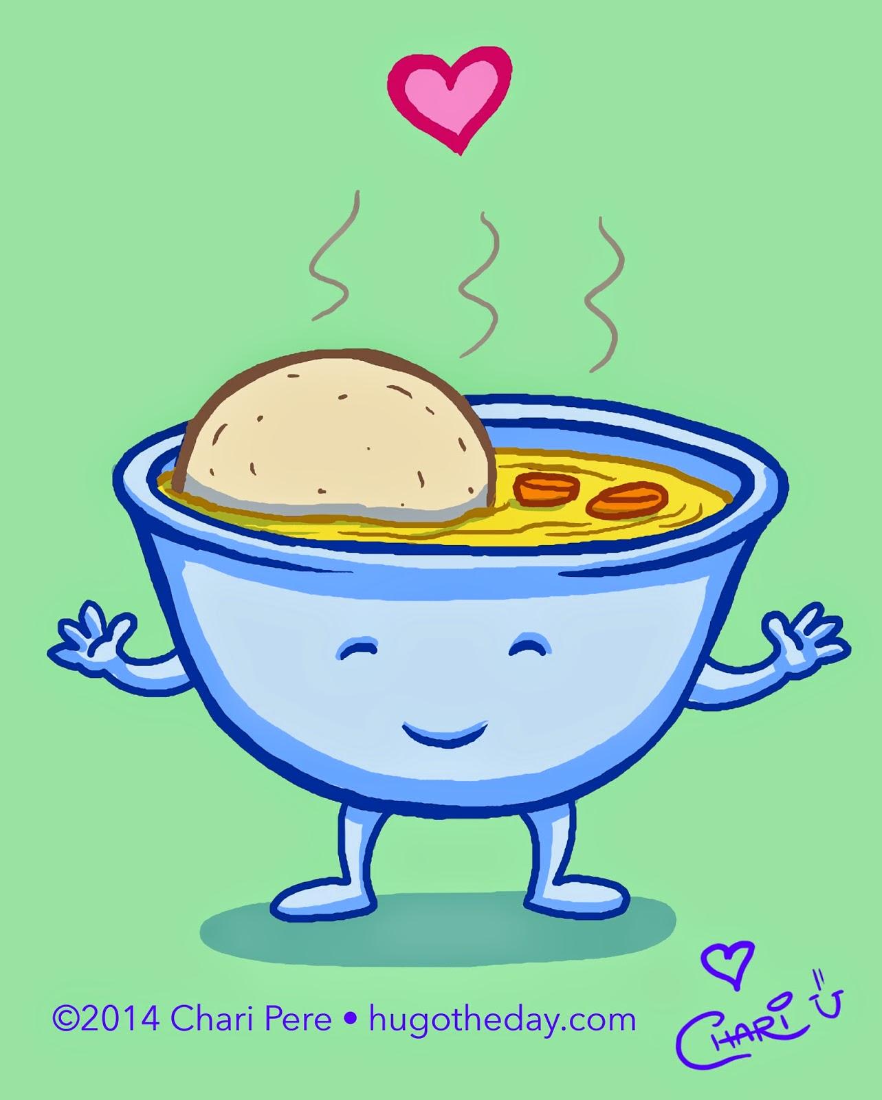 Soup clipart matzo ball soup. Hug o the day