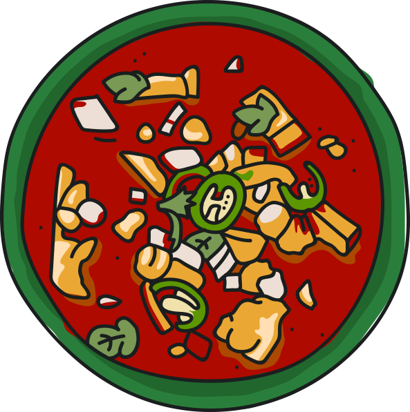 hangover cures from. Soup clipart menudo