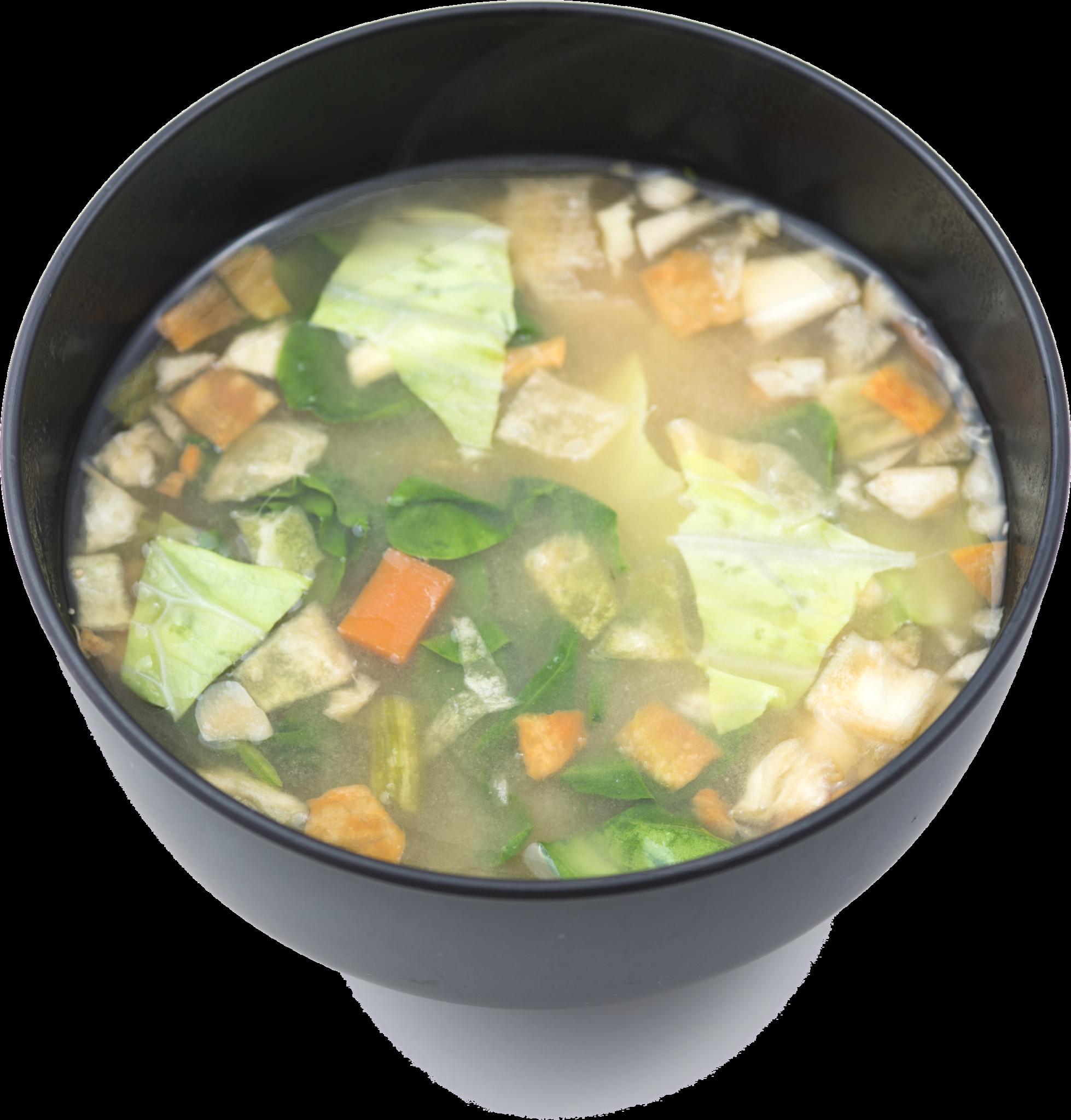 box set classic. Soup clipart miso soup