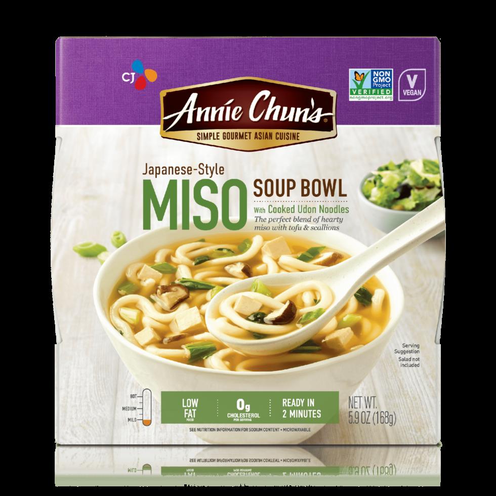 Soup clipart miso soup. Spicy bowl annie chun