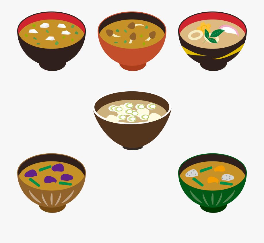 Unique cliparts for free. Soup clipart miso soup