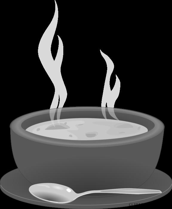 Spoon page of clipartblack. Soup clipart outline