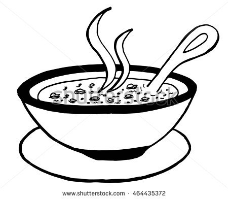 Soup clipart sketch. At paintingvalley com explore