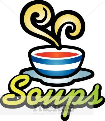 This word art says. Soup clipart soup lunch