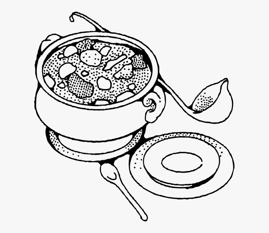 Soup clipart soup tureen. Food cuisine dish bowl