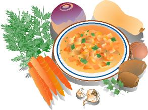 Soup clipart steamed vegetable. The gallery for image