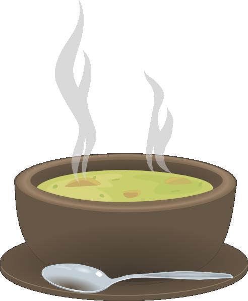 Soup clipart vector. Of clip art panda