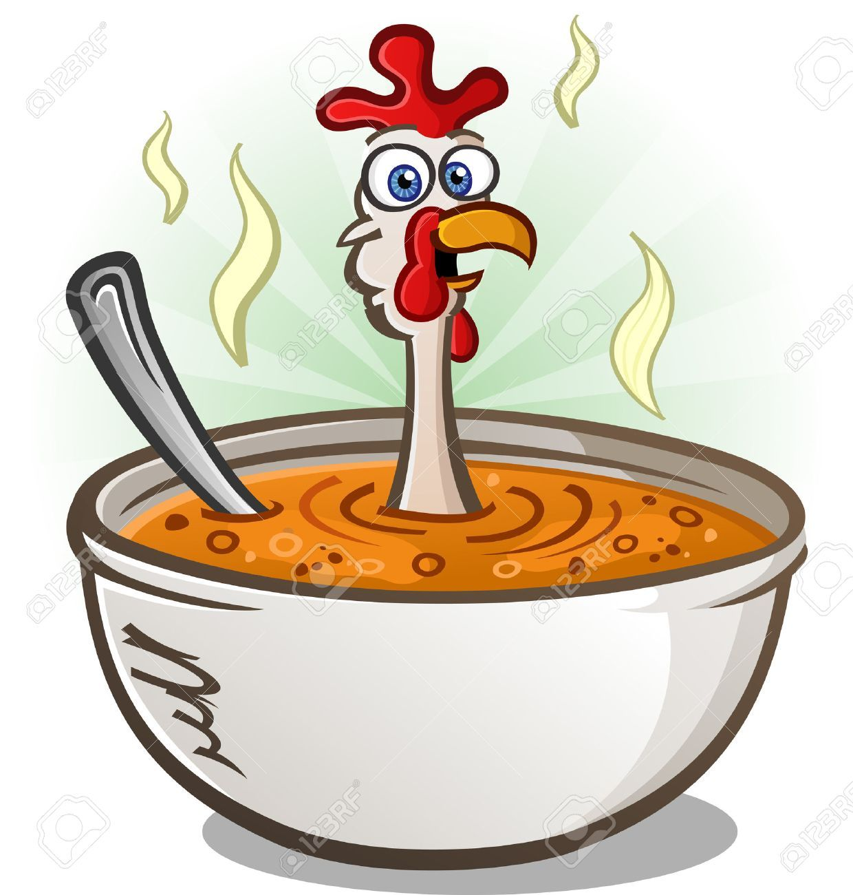 Stock this is design. Soup clipart vector