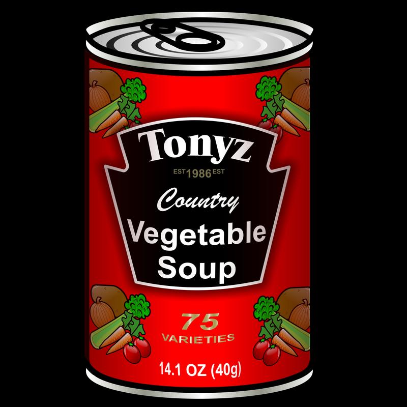 Symbol food talksense tin. Soup clipart vegetable soup