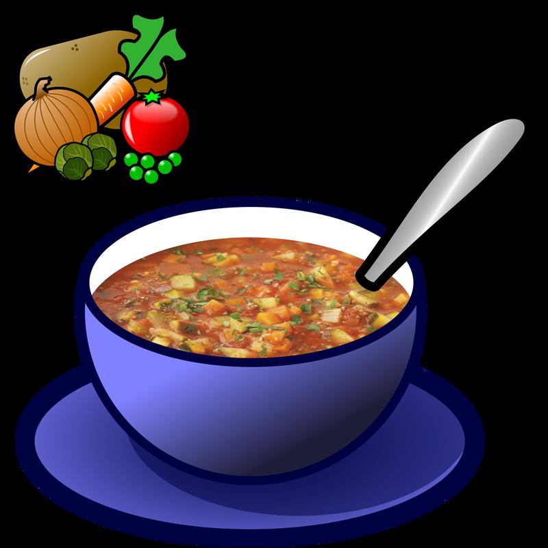 Symbol food talksense. Soup clipart vegetable soup