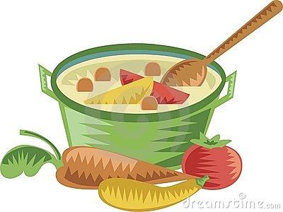 Soup clipart vegetable soup. Clip art library