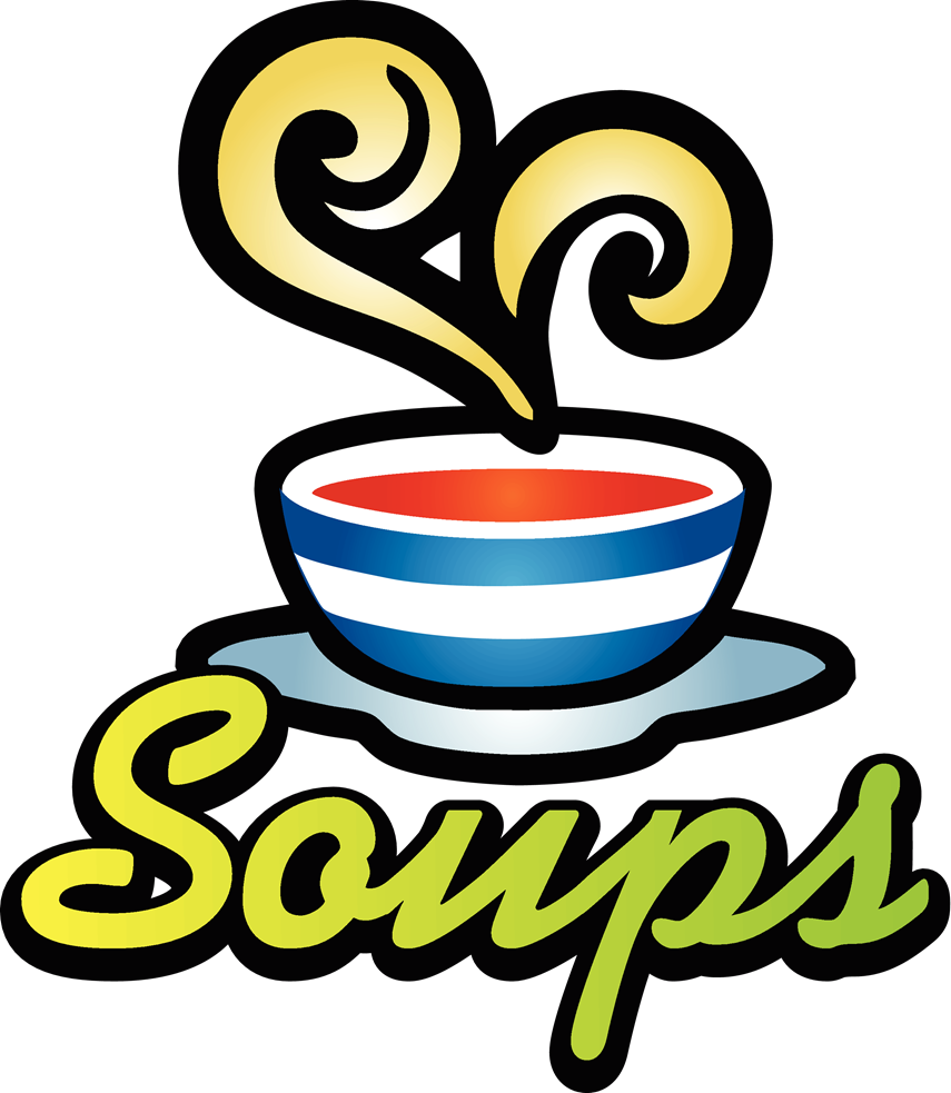Soup clipart word. Stone for milk